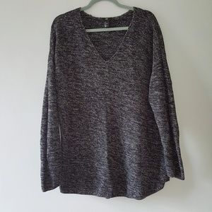 H&M Loose Sweater V Neck Cotton